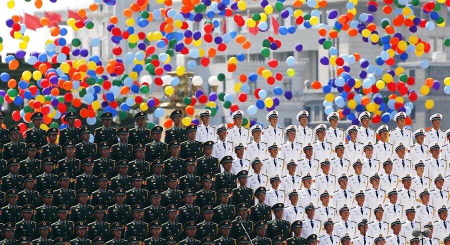 Torsdag markerer Kina 70-året for Anden Verdenskrigs afslutning med kæmpe militærparader i Beijing.