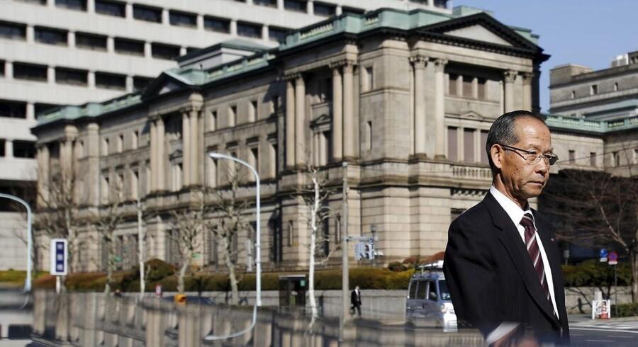 Bank of Japans tiltag kommer ikke som den helt store overraskelse, idet der de seneste dage har været gentagne rygter om nye lempelser fra centralbankens side.