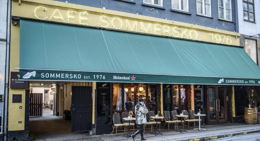 Cafe Sommersko. Arkivfoto.
