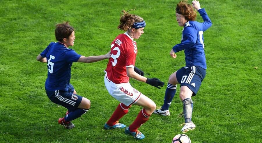 Mandag tabte de danske EM-sølvvindere 0-2 til Japan, der vandt sølv ved det seneste VM i 2015.