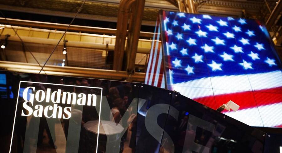 Goldman Sachs kan se frem til en gevinst på omkring 2,8 mia. kr., når man ser bort fra inflation. Dertil kommer et mindre udbytte for regnskabsåret 2014.