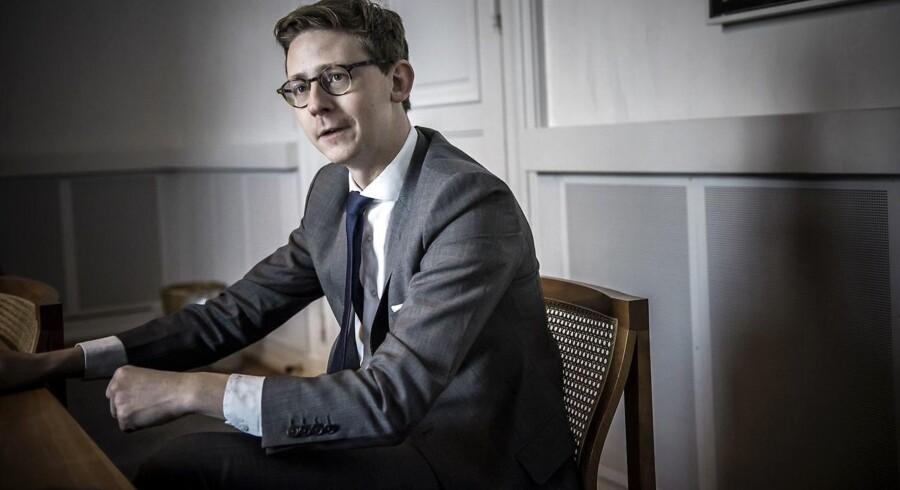 Karsten Lauritzen (V), skatteminister.