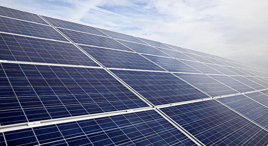 Arkivfoto: Solcelleanlæg i Tyskland.