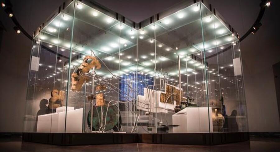 I Glyptoteket findes der i alt omkring 155 genstande fra den berømte fyrstegrav fra Sabina. Genstandene, som er nogle af dem, der nu skal tilbageleveres, blev alle erhvervet i 1970-1971. Foto: Ana Cecilia Gonzalez/Glyptoteket
