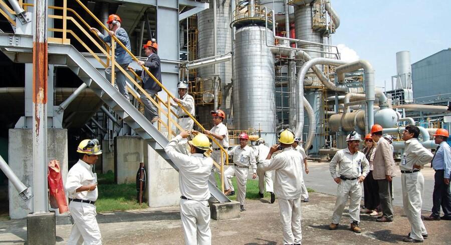 Den nu afdøde Haldor Topsøe besøgte i 2011 fabrikken i Bangladesh