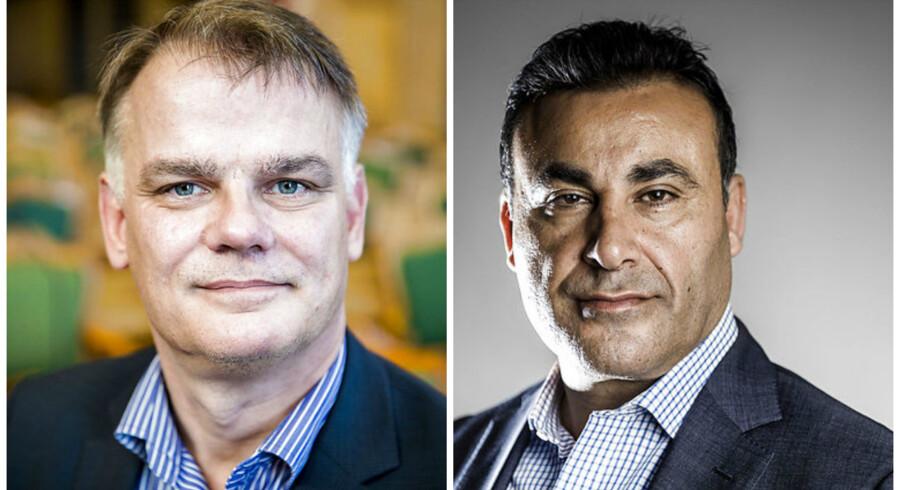 Christian Langballe (DF) og Naser Khader (K) vil indføre individuelle screeningssamtaler, når udlændinge søger om statsborgerskab i Danmark.