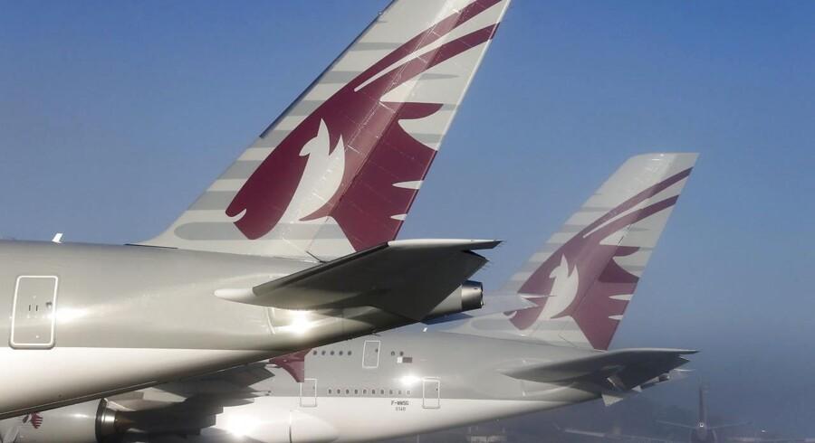 Flyselskabet Qatar Airways står på spring med flere investeringer i britiske IAG.