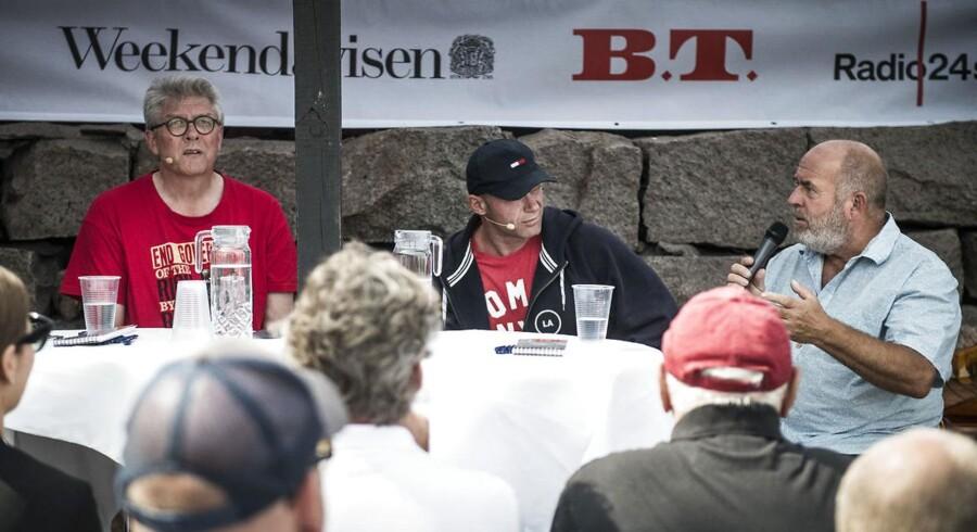 Karsten Hønge (SF), Joachim B. Olsen (LA) og Søren Espersen (DF) debatterer magt og resultatet af Berlingskes årlige kåring af Danmarks mest magtfulde person.