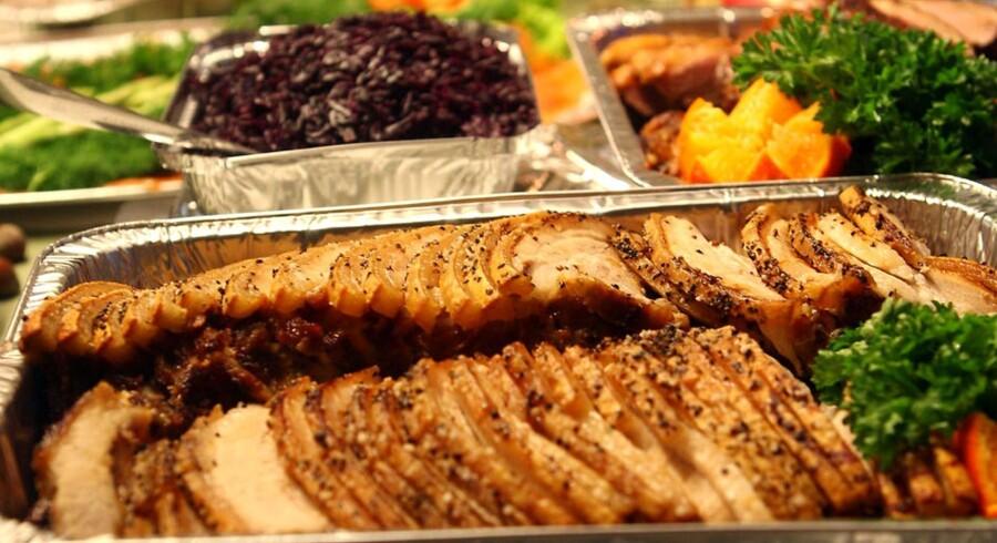 Flæskesteg eller and? Der er forskel på, hvad danskerne spiser til jul alt efter, hvor i landet de bor.