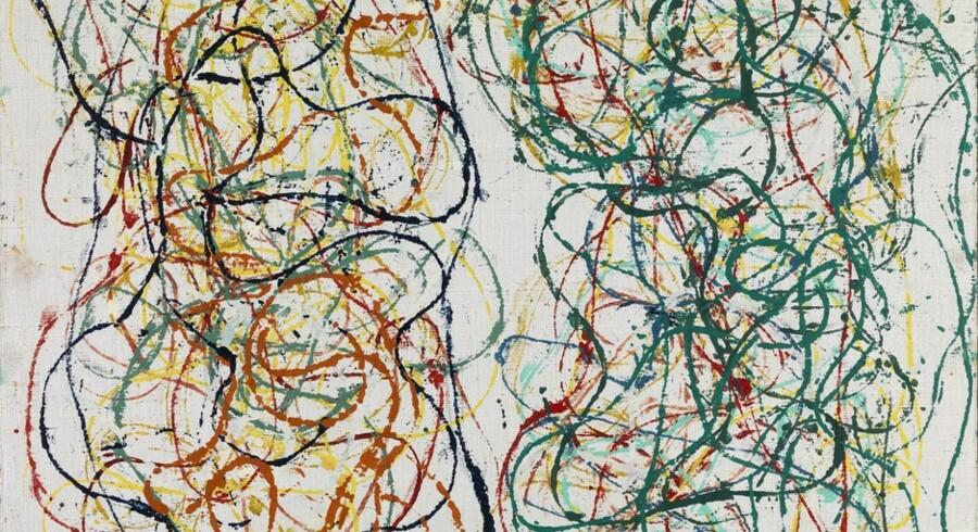 Jorn & Pollock - Revolutionære veje.»Så vidt man ved, døde den amerikanske maler, Jackson Pollock, uden nogen sinde at have så meget som hørt om Asger Jorn. (...) Jorn havde selvfølgelig hørt om Jackson Pollock, der var et af de helt store navne i den amerikanske ekspressionisme - og derved en slags pendant til den form for maleri, Jorn selv og nogle af hans europæiske malerkammerater arbejdede med. Det skete blot forholdsvis sent i Jorns liv. Blandt andet fordi amerikansk kunst slet ikke havde opnået den tyngde i Europa, den skulle få før 1950erne og 1960erne (...) Og skønt Jorn efter alle standarder skulle blive en meget væsentlig og betydningsfuld europæisk kunstner, er påvirkningen fra Jorn - og Picasso - meget tydelig.« skrev Berlingskes anmelder, Torben Weirup, om udstillingen.Udstillingen med værker af Asger Jorn og Jackson Pollock blev vist på Louisiana fra 15.11.2013 til 23.2.2014.Læs resten af den 6-stjernede anmeldelse  »Seks stjerner til Jorn og Pollock på Louisiana«