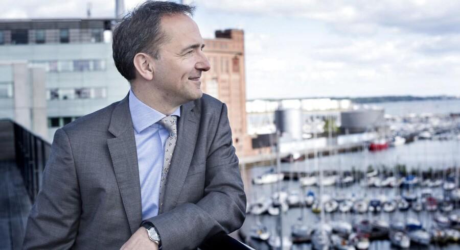 »Vi bevæger os ind i en verden, hvor leverandører qua digitaliseringen bliver i stadig bedre stand til at forstå den enkelte kundes behov mere individuelt og dermed også kan levere mere tilpassede produkter. I et samfund overtrumfer evnerne til at lytte og skabe evnerne til at skalere og masseproducere. Det passer ret godt til Danmark. Hvis vi vel at mærke forstår at udnytte ressourcerne ordentligt,« siger Jim Hagemann Snabe. ARKIVFOTO.