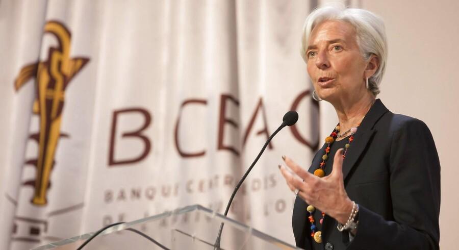 IMF-direktør Christine Lagard.