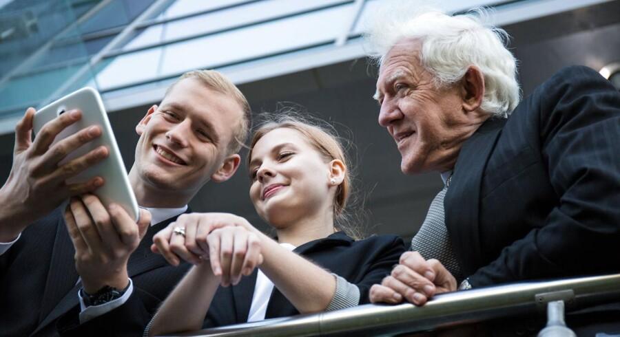 Ville du satse på de yngre eller ældre medarbejdere, hvis du som leder skulle udarbejde en langsigtet strategi for virksomheden?