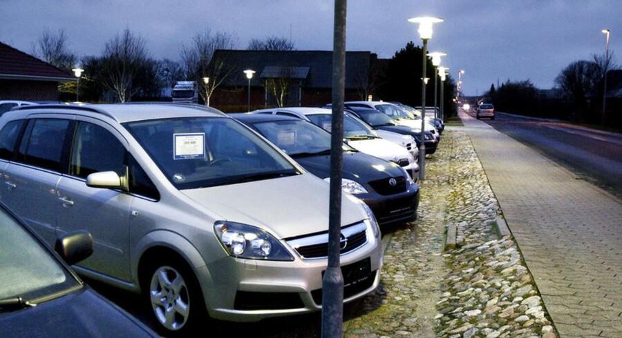 Brugte biler til salg. ARKIVFOTO.