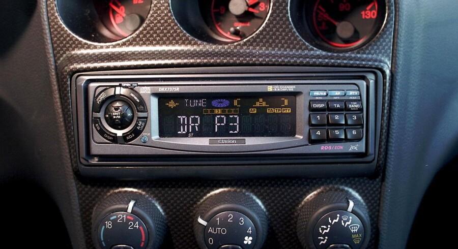 Mange nye biler bliver leveret uden DAB-radio. (Foto: JAN JØRGENSEN/Ritzau Scanpix)