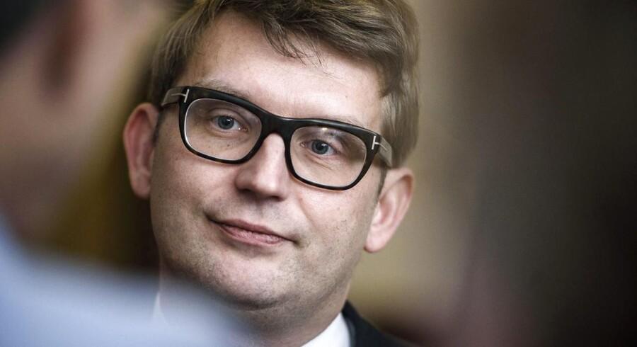 Erhvervsminister Troels Lund Poulsen.