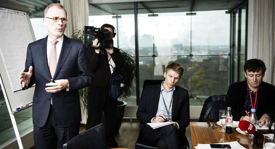 Carlsbergs CEO Cees't Hart. Fotograferet onsdag den 11. november i Carlsberg.