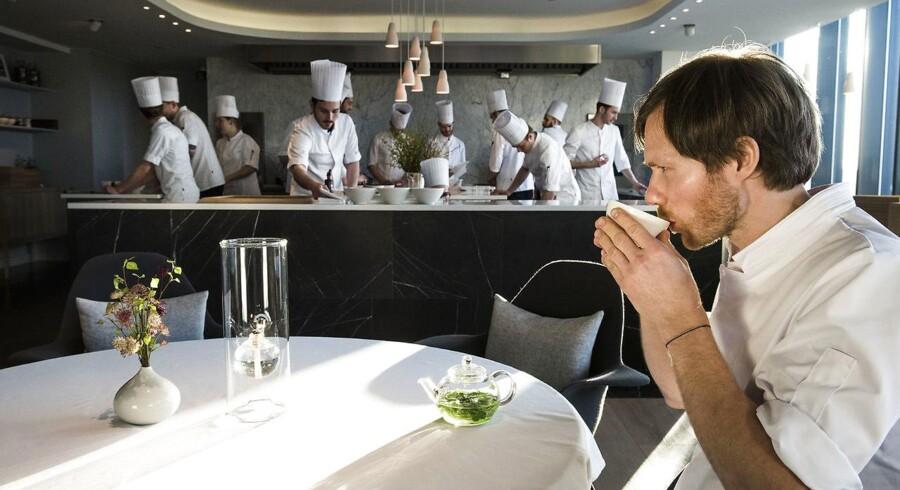 Rasmus Kofoed kan prale af at Geranium er nummer 19. på listen over verdens bedste restauranter.