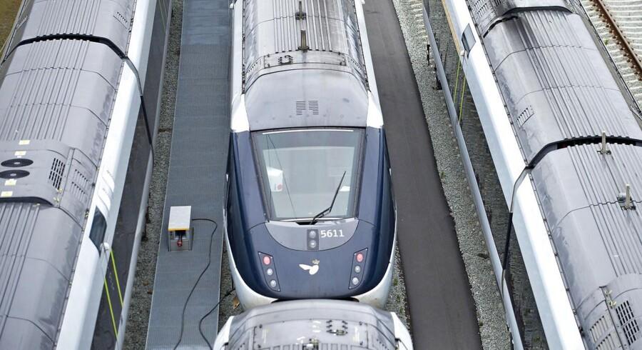 Arkivfoto. I DSB lægger man ikke skjul på, at de fejlbehæftede og dieseldrevne IC4-tog har været årsag til mange frustrationer og spildte milliarder.