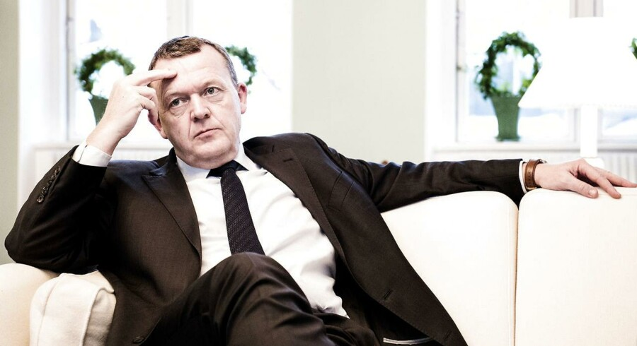 ARKIVFOTO. Statsminister Lars Løkke Rasmussen