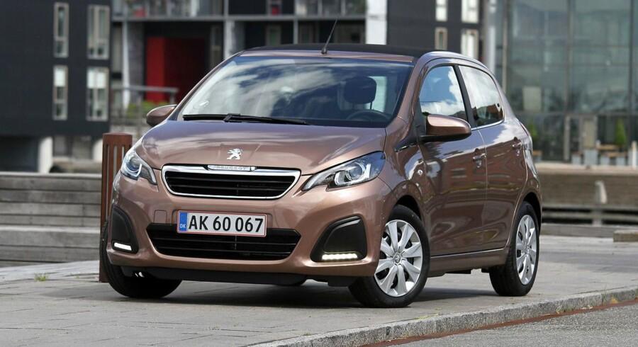 Allan Skytte Christensen nævner blandt andet Peugeot 108, som en af de biler hvis salgstal er steget voldsomt på grund af de fordelagtige leasingaftaler.