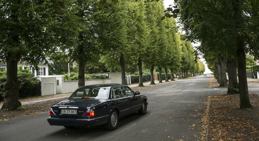Hambros Alle i Hellerup er blandt de dyreste adresser i Danmark