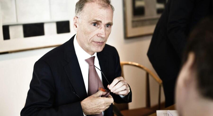 Carlsbergs topchef, Cees't Hart.