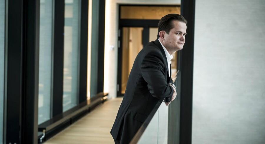 Jesper Sabroe kalder sig selv »nærmest masochist«, når det handler om at nå i mål: »Jeg knokler som en maskine, hvor jeg nærmest glemmer mig selv,« siger årets CFO Rising Star.