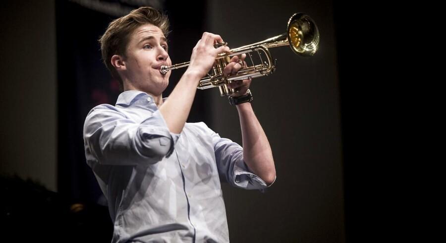 Christian Sebastian Deleuran 16 år, Trompet Berlingskes Klassiske Musikkonkurrence 2017 koncert i Tivoli
