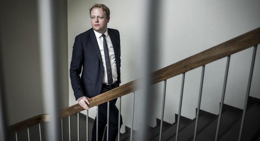 Med en række nye tiltag forsøger Morten Niels Jakobsen at ændre Bagmandspolitiets image, som har været udskældt for årelange sagsbehandlingstider og for at tabe de afgørende sager. Foto: Asger Ladefoged