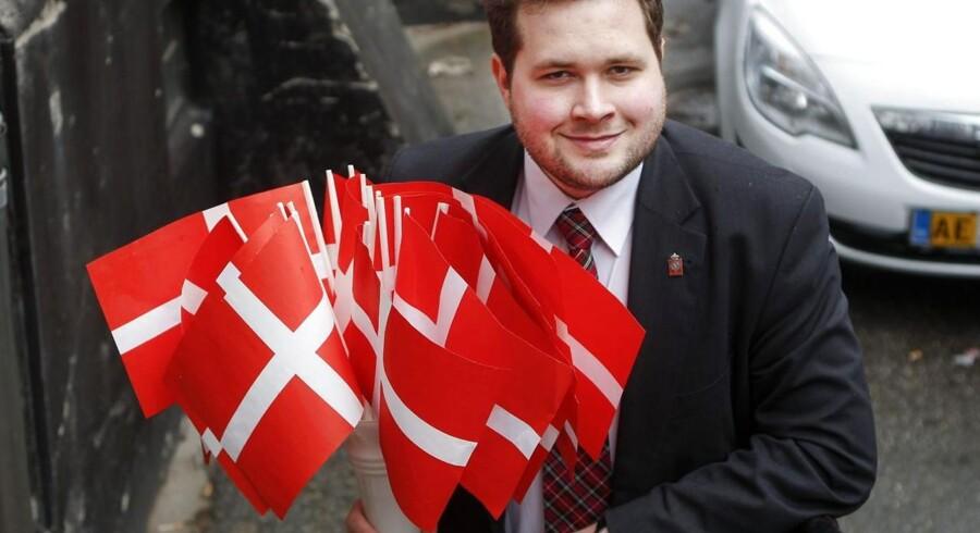 """""""Uden briterne vil EU være et eksprestog mod Europas Foernede Stater,« mener Anders Vistisen, formand for Dansk Folkepartis Ungdom og medlem af Europa-Parlamentet."""