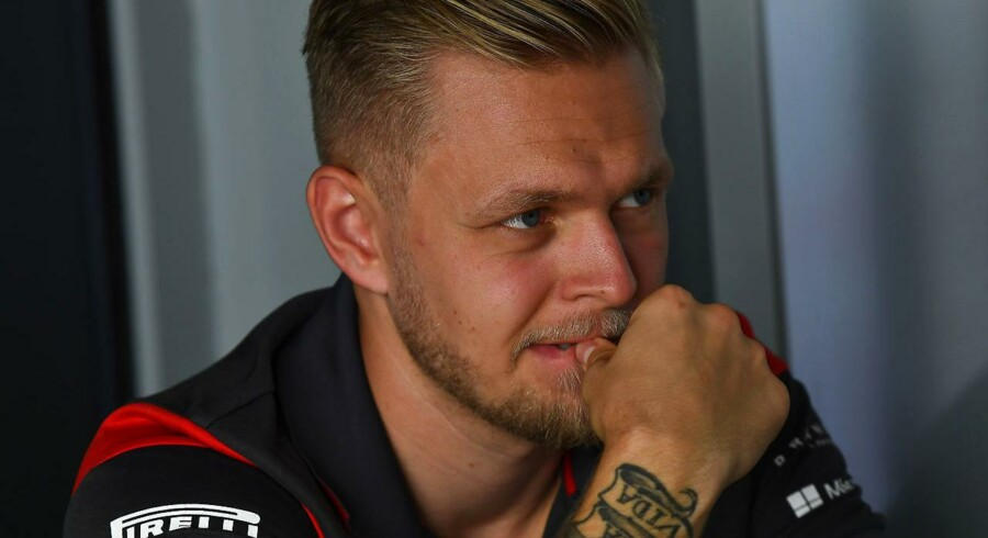 Kevin Magnussen (Haas-Ferrari) slutter som nummer 14 i Abu Dhabi.