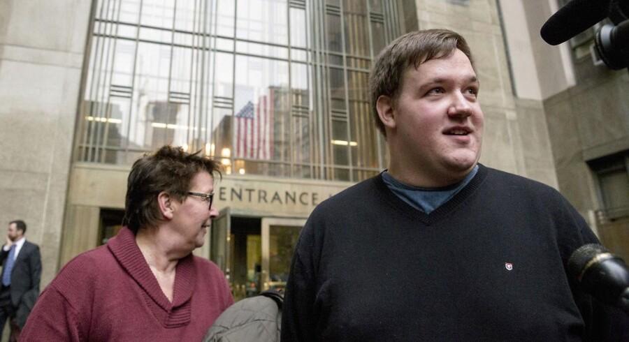 ARKIVFOTO af den danske pædagogstuderende Malthe Thomsen, der blev falsk anklaget for pædofili under et praktikforløb på en skole på Manhattan i New York.