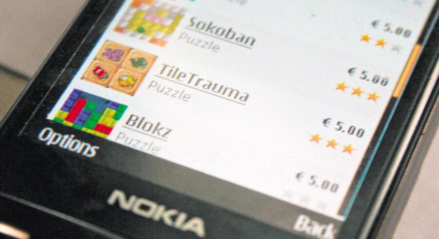 Nokia har lanceret sin egen applikations-butik, Ovi Store