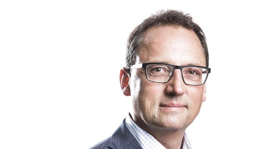 Portræt af Morten Hesseldahl. Det Kgl. Teaters direktør