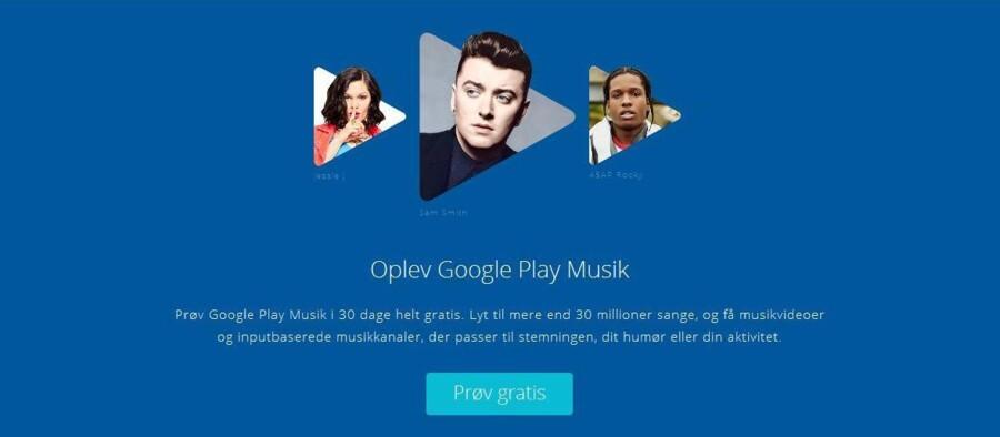 Google lancerer nu en gratis, reklamebaseret udgave af sin musikstreamingtjeneste, Google Play Music, lige inden Apple kommer på banen med sin tjeneste.