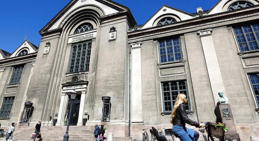 Juridisk fakultet på Vor Frue Plads i København.
