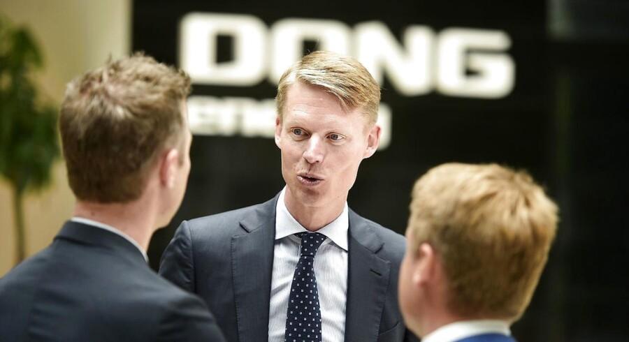 Mange private investorer vil nok være interesseret i at købe DONG-aktier, som dermed kan blive en folkeaktie. (Foto: Niels Ahlmann Olesen/Scanpix 2016)