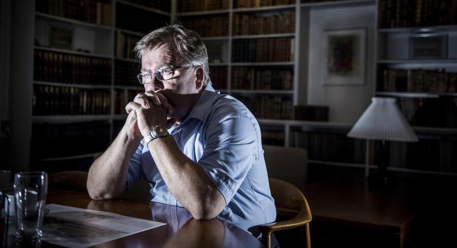 Finansminister Claus Hjort Frederiksen (V) på sit kontor i Finansministeriet.