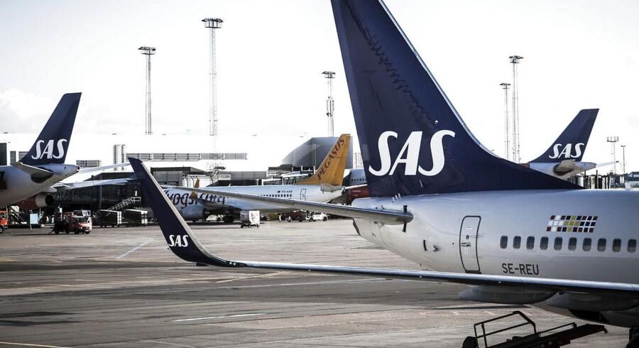 Strejken blandt svenske piloter fortsætter, og 12 returflyvninger til og fra Danmark aflyses søndag. (Foto: Jeppe Bjørn Vejlø/Scanpix 2015)