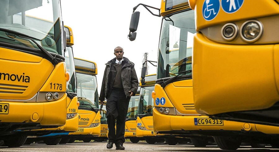 Arkivfoto: Hamsa Ahmed Hassan er oprindeligt fra Somalia og er nu buschauffør for Arriva.