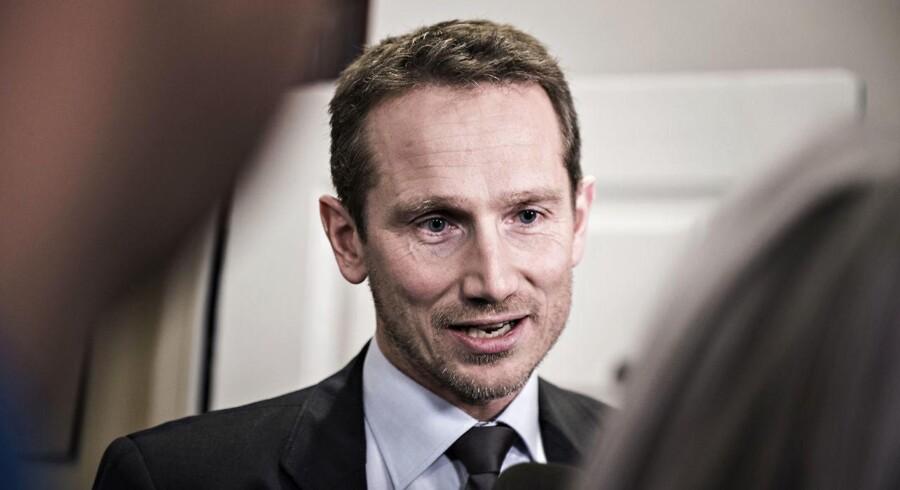 Finansminister Kristian Jensen (V). (Foto: Ida Guldbæk Arentsen/Scanpix 2017)