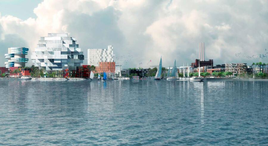 En helt ny bæredygtig, CO2-neutral bydel er rykket nærmere. Nordhavn får 40.000 beboere, 40.000 arbejdspladser og masser af vandsport.