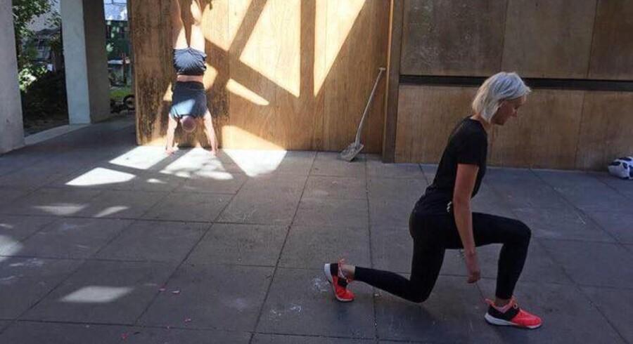Den funktionelle træning er legende og fleksibel.