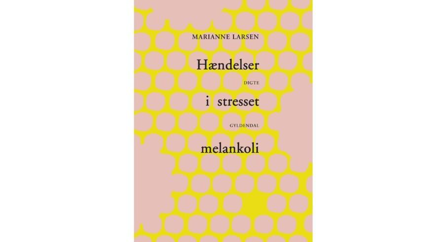 »Hændelser i stresset melankoli – med automatiske æbler« af Marianne Larsen.