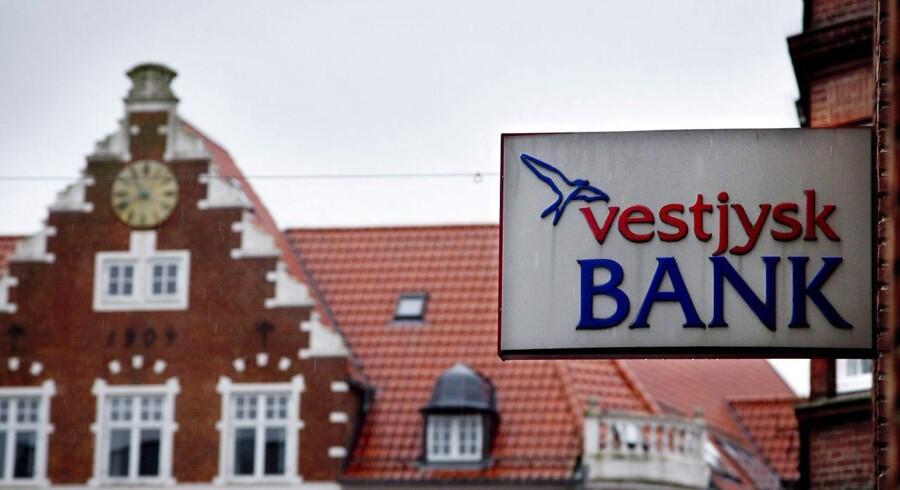 Vestjysk Bank udsteder ny efterstillet kapital. Det oplyser banken i en selskabsmeddelelse. (Foto: Johan Gadegaard/Scanpix 2013)