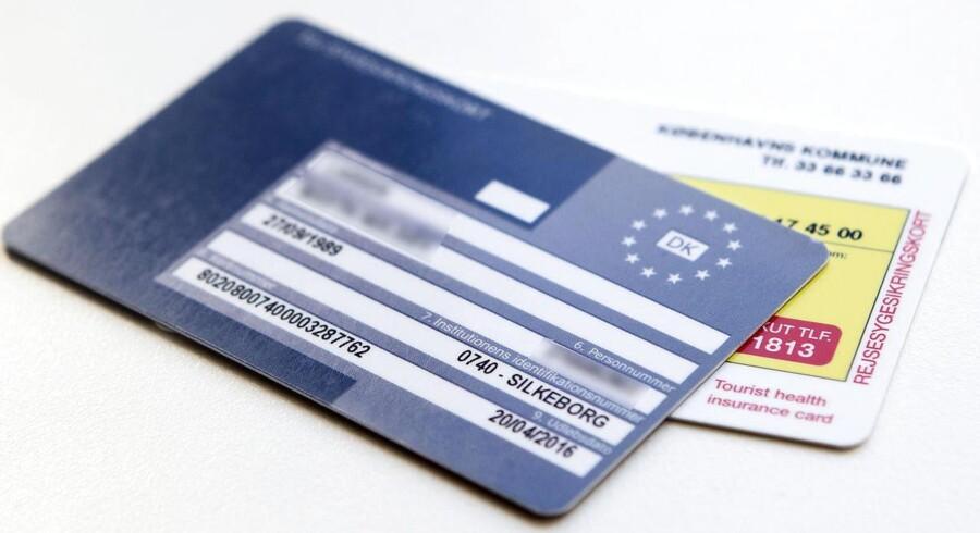 Under hver tiende unge mellem 20 og 29 år har bestilt et blåt sygesikringskort.