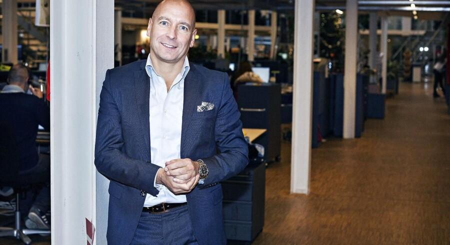 Stefan Kercza, som blev hentet ind som koncernchef for den børsnoterede, svenske søgevirksomhed Eniro, blev fredag fyret. Arkivfoto: Jonas Skovbjerg Fogh, Scanpix