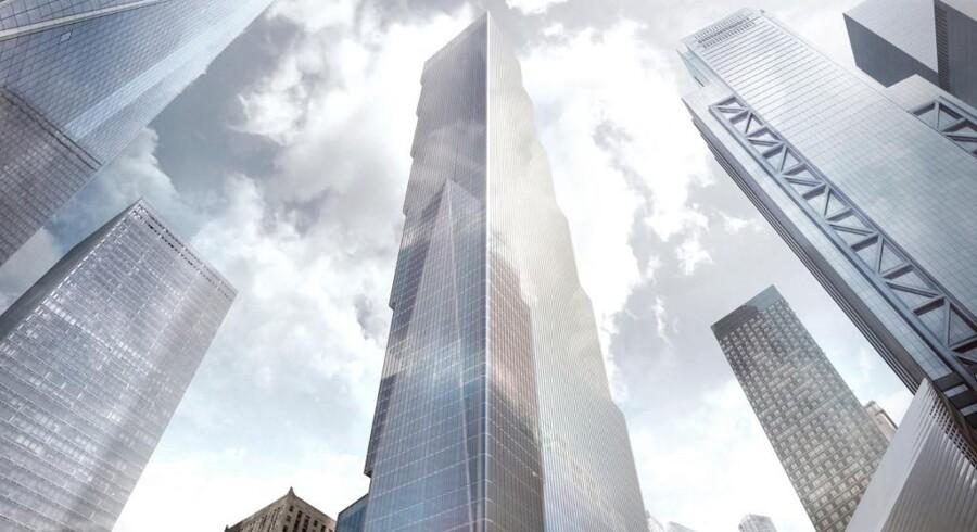 BIG Group står bag designet på den sidste af de fire bygninger, der skal erstatte tvillingetårnene, der faldt 11. september 2011. Bygningen skal stå færdig inden 20-årsdagen for terrorangrebet i 2021 og bliver efter planen hele 408 meter høj.