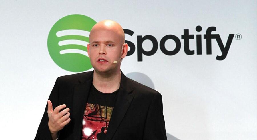 Spotify-stifter Daniel Ek kan måske snart kalde sig CEO for et børsnoteret selskab.